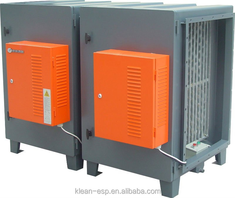Electrostatic Air Cleaner for Restaurant/Hotel/Cafe kitchen HVAC System