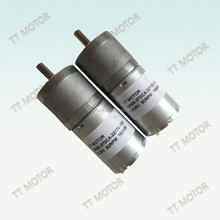 25mm hot selling TT 24v dc motor 120rpm for drill