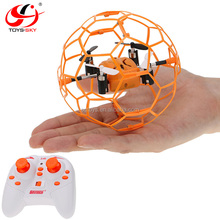Skytech M70 4CH 2.4GHz Climb RC Flying ball Quadcopter Drone 6-Axis Gyro with Football Protective Cover