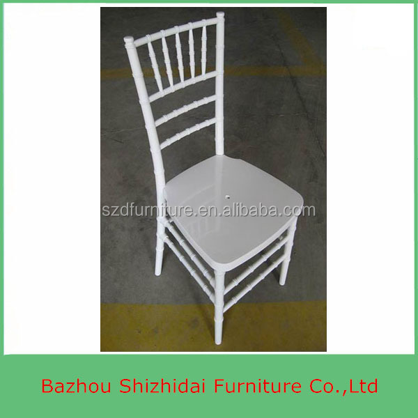 White Wood Used Chiavari Wedding Chairs For Sale SDB-401