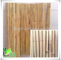 cheap folding artificial bamboo rod fencing
