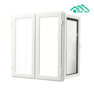Aluminium Casement Interior Windows with Louver Shutters