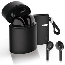 Newest Private Mode hot selling tws black earphone earbuds For Smartphones
