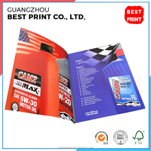 Custom Chinese adult magazine new products catalog A4 copy paper book printing