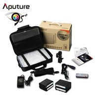 Aputure camera led light photography studio light HR672W free bag and battery
