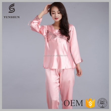 Factory price see through nightgown mature women sexy sleepwear