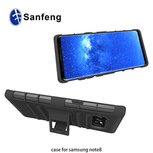 hard holster combo mobile case with stand for Samsung Note 8