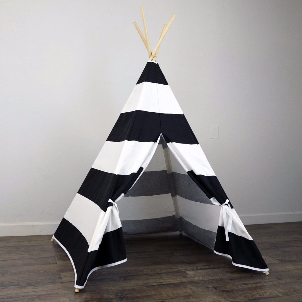 Multicolor Cute Design Great Fun Indoor Outdoor Exquisite Kids Teepee Tent