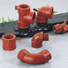 Hydraulic Water Fittings PPH Piping and Plumbing Fitting