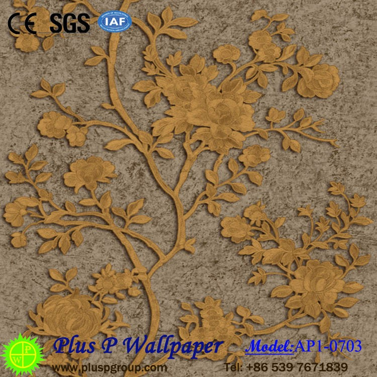Plus P Artistical Trees Designer Vinyl Wallpaper for Interior Walls Decoration