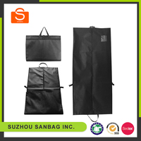 Low price garment packaging bags, personalised non-woven garment bags, non woven bag big size