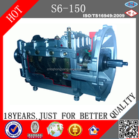 Bus and Heavy Truck manual Transmission Gearbox S6-150 QJ1506