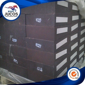 Magnesite Chrome Refractory Bricks , High chrome refractory brick Mc8
