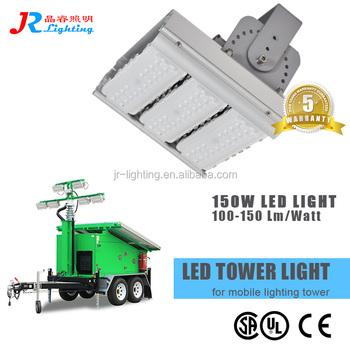 Top Quality Waterproof IP67 150W LED flood light for Solar Light Tower Replacement