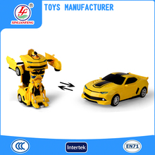 Hot sale rc toy remote control car transform robot toy