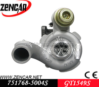 Aftermarket GT1549 turbine garrett turbo gt1549 751768-5004S for Scenic Master engine