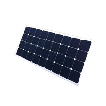 factory price sunpower 100w marine semi flexible solar panel prices for carvan boat