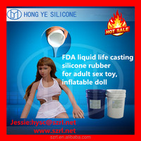 liquid silicon rubber mould for full silicone sex doll man, artificial vagina