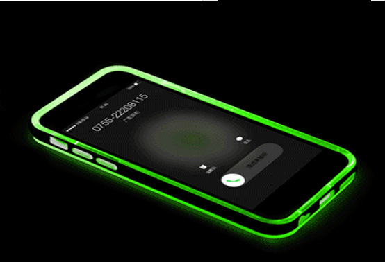 Smart Mobile For iPhone 5 6 6p Case Accessories Phone with incoming call led flash case