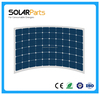 Hot Sale 180W 24V High Efficiency Semi Flexible Solar Panel solar module for car ,boat