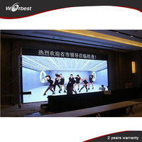 High Brightness cheap P4 Indoor Advertising Display LED Video Screen