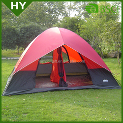 Hot sale 3-4 person pink camping tent