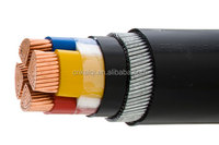 underground electrical armoured cable 4 core Cable 25mm