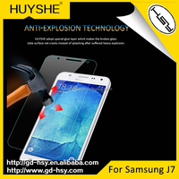 HUYSHE for Samsung Galaxy j7 Screen Protector 0.3mm 2.5D Anti Blue Light Tempered Glass 9h Hardness Fingerprint Resistant