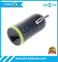 For iPad 1/2/3/4/iPad Mini/iPhone 5 / 4S / 4/Google Android Phones USB Car Charger with 2.1 Amp Total Output