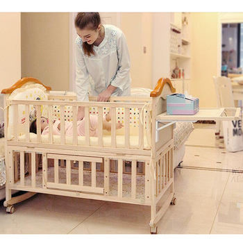 Grade one quality baby bassinest bed crib/living baby room furniture China cribs /bed side cot