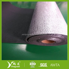 Single side aluminum foil XPE foam heat absorbing building materials