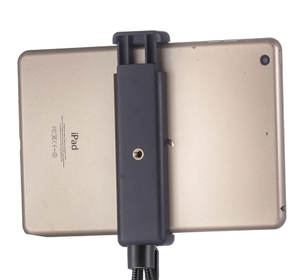 No Patent Tablet PC Extendable Selfie Stick Tripod Clamp Mount Holder Stand Adapter for iPad4 air PDA E-Book Accept OEM