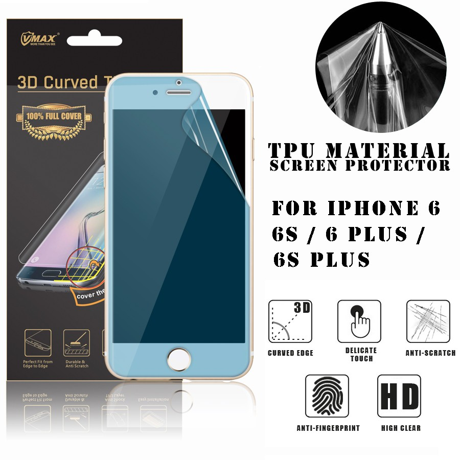Prefect Fit !! Screen Guard & Screen protector & Screen protector film for iPhone 6/6s plus