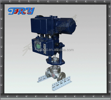 Electric Valve actuator Motorized Water Flow Level Control valve