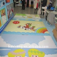 Cartoon Designed Kids Play Mat