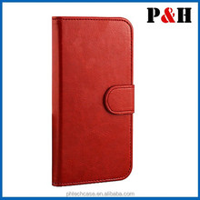 OEM blank leather phone cases/Sublimation Leather Flip Cover for Iphone 5/5S