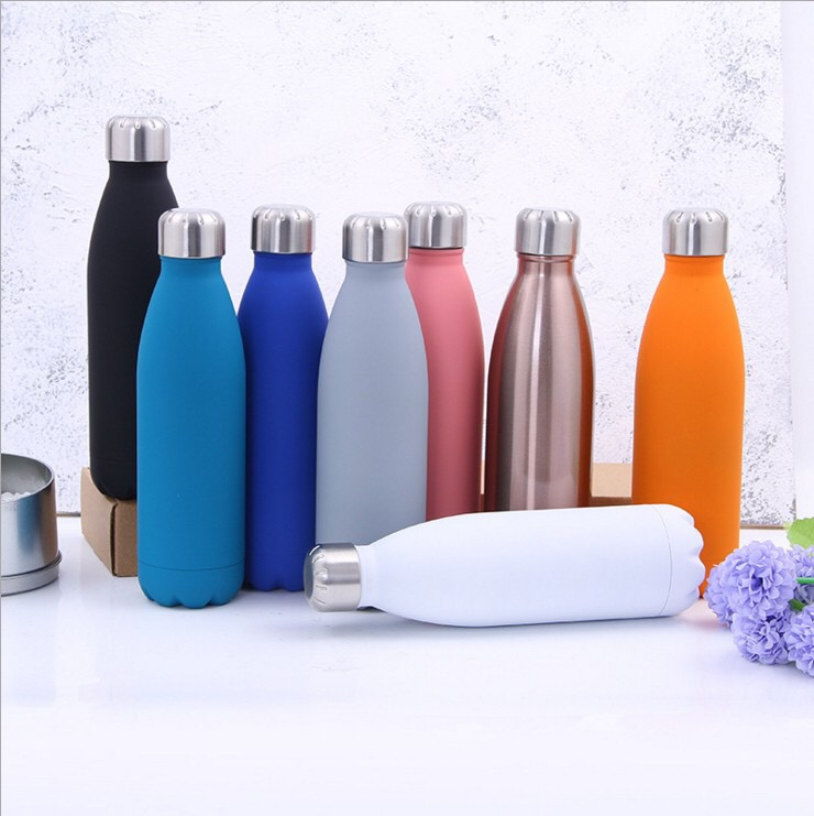 wholesale stainless steel vacuum insulated coke bottle water bottle