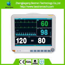 BT-PM8D China factory sale multi parameter patient hospital monitor