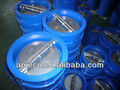 cast iron dual plate /double door/ wafer type butterfly check valve PN16 counterbalance valve