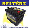 75D26L-MF 12V65AH storage battery for Japanese Vehicles auto battery