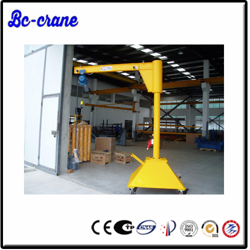 single girder mobile harbour jib crane for sale