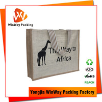 Factory Directly Eco Friendly Natural Jute Burlap Bags Wholesale