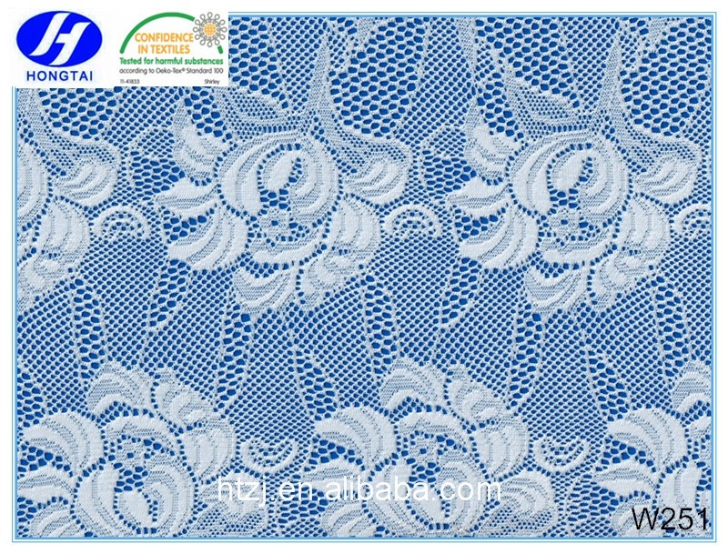 french lace fabric embroidery design from hongtai