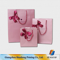 Custom retail shopping paper bags printing