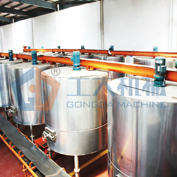 Malt production system