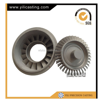 air diffuser/compressor wheel and turbine nozzle used for jet engine parts