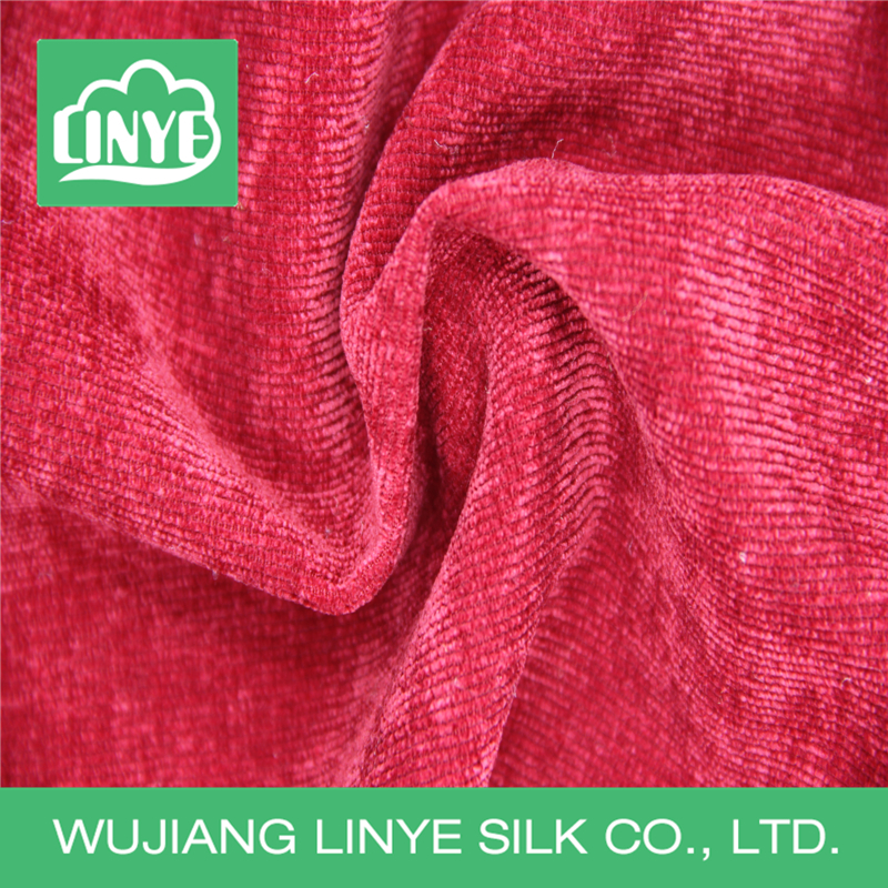stripe polyester stretch slub corduroy furniture fabric