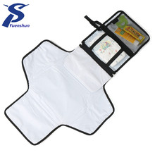 Outside Portable washable infant foldable portable baby changing pad