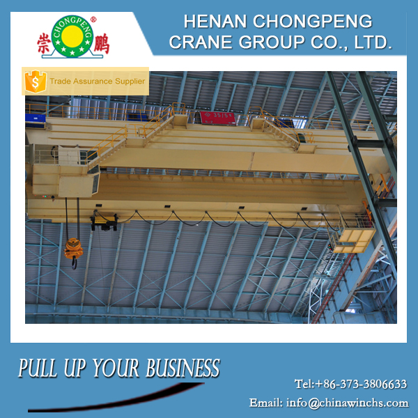 Good cost steel works 30 ton overhead crane from China