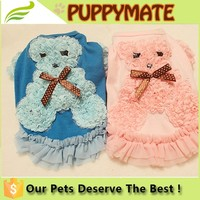 Princess dog clothes/dog dresses/pet clothes for 2016 Summer
